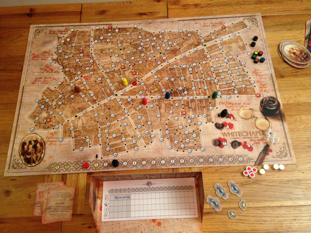 Letters from Whitechapel Games Night Guru